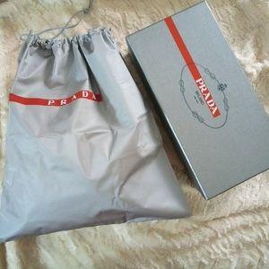 Prada Shoe Box and Dustbag